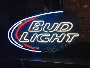 County Beverage Sign